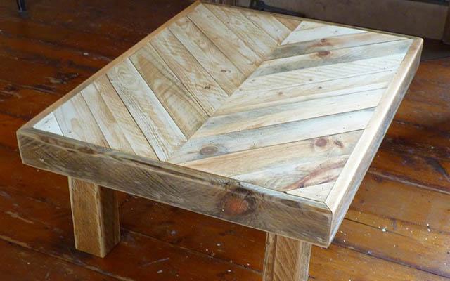 Návod na konferenčný stolík z dreva paliet