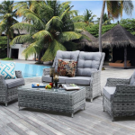 Ratanový nábytok sa stal najobľúbenejším záhradným nábytkom: Týchto 6 dôvodov presvedčí aj vás!